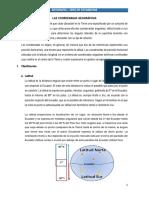 6. Las Coordenadas Geográficas - 1ero de Secundaria