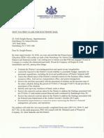 Harrisburg School District Audit Letter