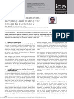 Briefing Soil Parameters, Sampling and Testing for Design to Eurocode 7
