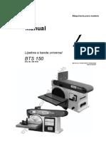 MANUAL LIJADORA A BANDA BTS 150.pdf