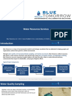 Water Resources Services