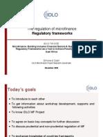 Regulation Frame Work
