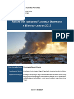 Análise Dos Incêndios Florestais Ocorridos a 15 de Outubro de 2017