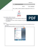 Practica 2. Uso de Clases en Java.