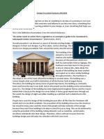 design precedent analysis arc3005