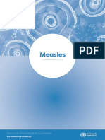 WHO SurveillanceVaccinePreventable 11 Measles R2