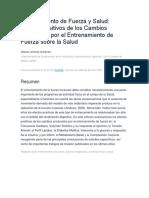 Entrenamiento de Fuerza y Salud. autor Alfonso Jiménez Gutiérrez.