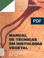 Manual de Tecnicas em Histologia Vegetal - Andrade de Macedo -1997.pdf
