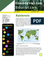 24. Rainforests - Conservation Education - YPTE