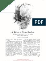 A Ticket to North Carolina Stuart Greene