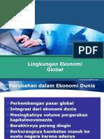 lingkungan ekonomi global