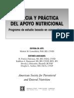 Ciencia y Práctica del Apoyo Nutricional, Programa de estudio basado en Casos Clínicos 2001 - Gottschlich, M..pdf