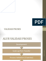 Validasi proses (cpob)