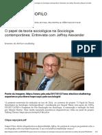 O Papel Da Teoria Sociológica Na Sociologia Contemporânea_ Entrevista Com Jeffrey Alexander _ Blog Do Sociofilo