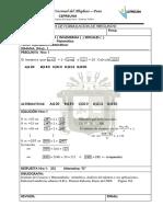 Raz. Mat Biomedicas P1 S1