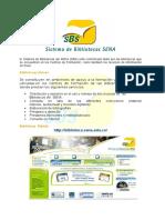 Sistema de bibliotecas.doc
