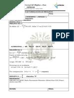 Raz. Mat Biomedicas P2 S1
