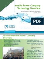 OceanRenewablePowerCo