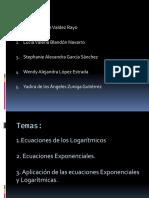 Trabajo de Matematicas (Funciones y Ecuaciones Logaritmicas y Exponenciales) (2)