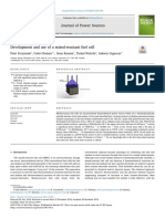 Development and Use of a Mixed Reactant Fuel Ce 2019 Journal of Power Source