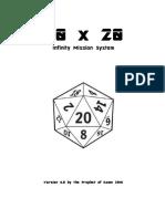 20x20 Infinity Mission System V4.0