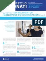 Boletín AES 42 Febrero - Tips Para Mejorar Tus Habilidades de Comunicación (Parte 2)