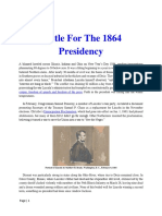 Mil Hist - CW Battle for the 1864 Presidency