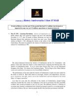 Military History Anniversaries 0301 Thru 031519