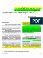 CONDUCTA PROCESAL DE LAS PARTES COMO SUCEDANEOS DE MEDIOS PROBATORIOS.pdf