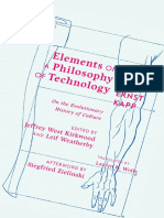 Elements of a Philosophy of Technology - Ernst Kapp