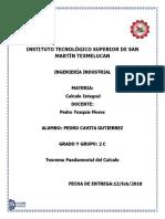 Teorema Fundamnetal Del Calculo