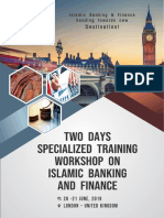 Two Days Specialized Training Workshop on Islamic Banking and Finance