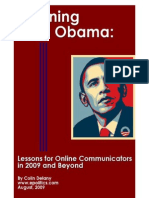 eBook - Learning From Obama