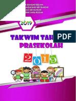 Takwim Tahunan Prasekolah Reena 2019