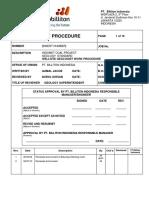 IMC EX P002 SOP EXPL Wellsite Geologist Work Procedure