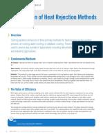 Comparison of Heat Rejection Methods