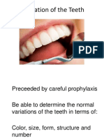 6. Examination of the Teeth2