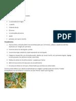 15 Recetas de Platillos Tipicos de Guatemala