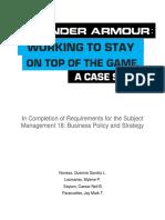 214502735-Under-Armour-Case-Study-analysis pdf | Supply