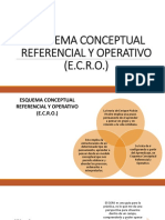 Esquema Conceptual Referencial y Operativo (e