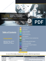 POWERCHIP TECHNOLOGY CORPORATIONCompany Profile Report, 2018