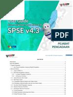 User Guide SPSE 4.3 Pejabat Pengadaan 17 Januari 2019.pdf