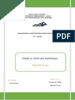 Etude et choix de matériaux-Bouteille de gaz.docx