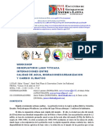 Programa Workshop Lago Titicaca - EGAL 280417