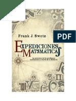 Swetz, Franck, Expediciones Matemáticas.