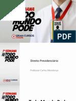 Todo Mundo Pode Direito Previdenciario Carlos Mendonça