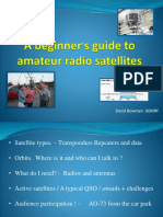 A beginners guide to amateur radio satellites