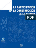 16 | La participación en la construcción de la ciudad | Jaume Blancafort y Patricia Reus | Colombia | Cuenca Red | pg. 94-105