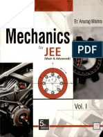 (Physics for IIT JEE Anurag Mishra) Er. Anurag Mishra - Mechanics for JEE (Main & Advanced) Volume 1-Shri Balaji (2014)