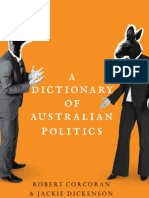 A Dictionary Australian Politics